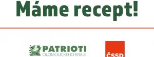 logo Koalice ČSSD a Patrioti Olomouckého kraje