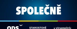 logo ODS + Starostové (STAN) a Východočeši