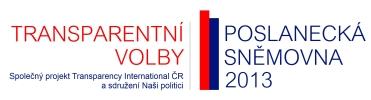 Transparentní volby – sněmovna 2013